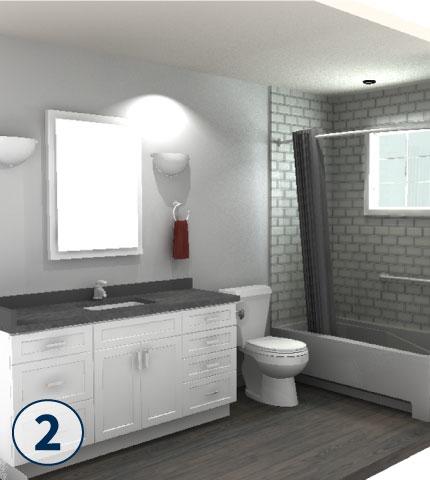 Cincinnati, Ohio Bathroom Remodeling - 3 Day Kitchen & Bath